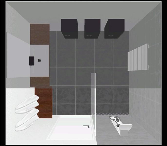 Ennovy badkamer ontwerp met mosa terra maastricht vloertegel - Badkamer in lengte ...